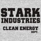 Stark Industries Clean Energy Dept. by GenialGrouty