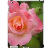 Rose Pink and Orange iPad Case/Skin
