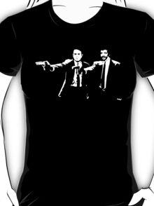 Pulp Fiction Neil deGrasse Tyson and Carl Sagan. T-Shirt