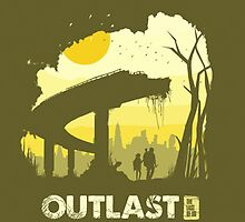 The Last Of Us: Outlast by OliverPShirts