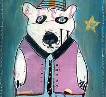 percy polar bear by bri-b