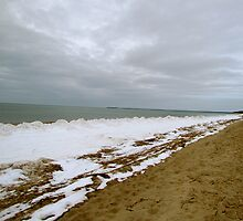 Beach in Wintertime by GleaPhotography