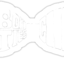 Doctor Who: bow tie (white) Sticker