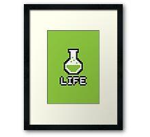 Potion - Life Framed Print