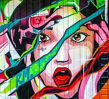 Screaming Girl Graffiti by MMPhotographyUK