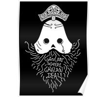 GAVLAN WHEEL, GAVLAN DEAL! (Dark Souls 2) (White) Poster