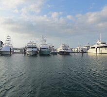 Key west Boats by GleaPhotography