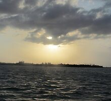 Key West Sky and Sea by GleaPhotography