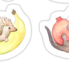 Small Animals & Fruit Sticker