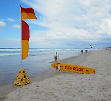Surf Rescue Broadbeach 6 April 2014 by FangFeatures