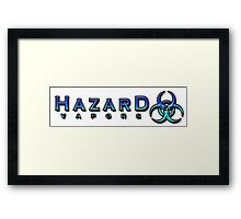 Hazard Vapors Shirt Framed Print