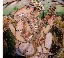 Ganesha by ganga