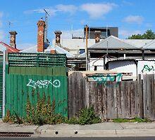 Brunswick Backstreet. Melbourne by Suzanne Phoenix