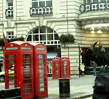 Telephone boxes by sammymedici