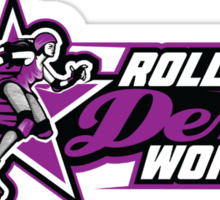Rollerderby World Merch Sticker
