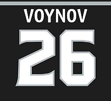 Los Angeles Kings Slava Voynov Phone Case by RussJericho23
