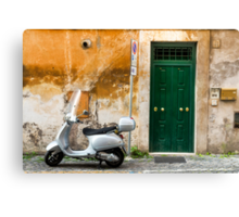 classical italy Canvas Print