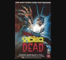 The Video Dead (Full VHS Cover) by Ronanana