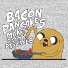 Jake / Bacon Pancakes by KalliroeTrope