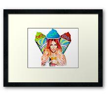 Bonnie McKee American Girl Framed Print