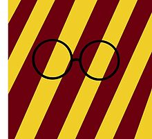 Gryffindor Harry Potter Glasses Phone Case by EmmaPopkin