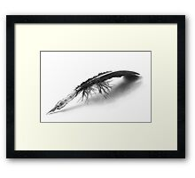 A Touch of the Past Framed Print