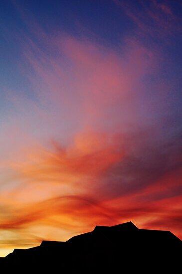 Burnished skies by Karen01