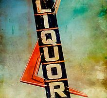 Liquor Store Neon Sign by Honey Malek