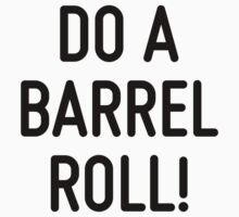 Do a barrel roll!  by ordinateur