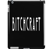 Bitchcraft (White) iPad Case/Skin