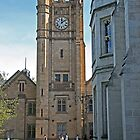 Arts Faculty clock tower, Melbourne University by Maggie Hegarty