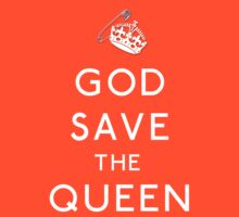 God Save The Queen by LetThemEatArt