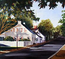 Street Scene Ste Genevieve by MIKE DEVANEY