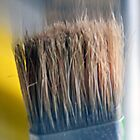 ©HS Paint Brush In Yellow IIA by OmarHernandez
