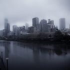 Misty Melbourne by Andrew Wilson