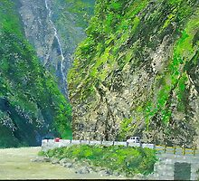 LARJI GORGE NEAR KULLU VALLEY by PRIYADARSHI GAUTAM