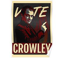 Vote Crowley for King of Hell Poster