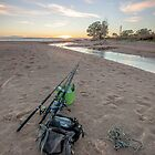 West Point Fishing Sunrise by Andrew Brooks