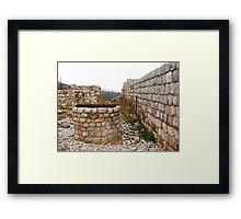Castello di Ravistagno Framed Print