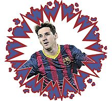 Messi Boom by JoelCortez