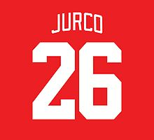 Detroit Red Wings Tomas Jurco Jersey Back Phone Case by Russ Jericho