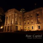 North Carolina State Capitol Building by Kristi Nobers