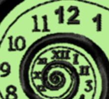 Time Traveler Geek Merit Badge Sticker