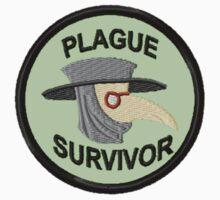 Plague Survivor Geek Merit Badge by storiedthreads