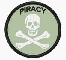 Piracy Geek Merit Badge by storiedthreads