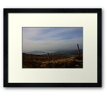 Inch Island From Scalp Mountain Framed Print