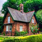 Cottage in Princes Street Gardens by Tom Gomez