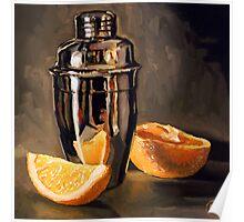Orange & Martini Poster