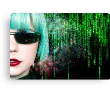 Matrix Homage Canvas Print