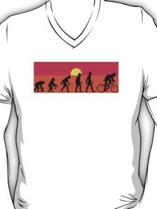 Pop Art Bike Evolution T-Shirt